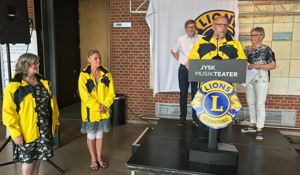 Donation fra Lions Club